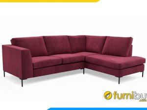Sofa nỉ góc cho phòng khách FB20010