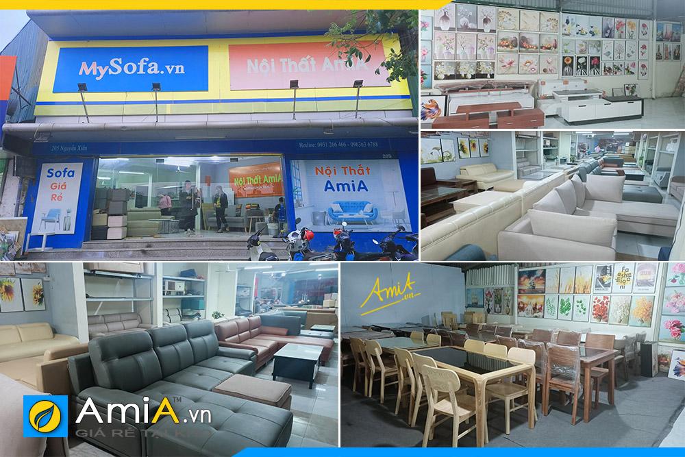 Cửa hàng nội thất AmiA với đa dạng mặt hàng nội thất